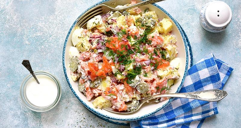 Salatka Z Ziemniakow Trzy Przepisy Na Pyszna Salatke Z Grilla Netto